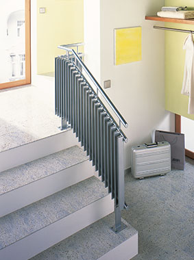 Radiateur design Arbotherm Arbonia, comme balustrade